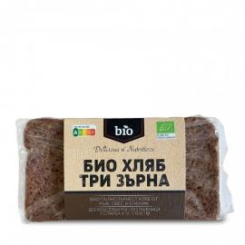 Био хляб три зърна 500г