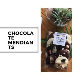 Шоколадови мендианти асорти 120г Bernard