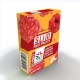 Дъвка без захар SLIM RED FRUITS 22,5g, V-gums